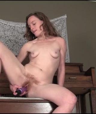 Ana Molly's Giant Dildo Cum