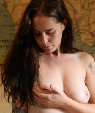 Susie Shows Off Hairy Pussy